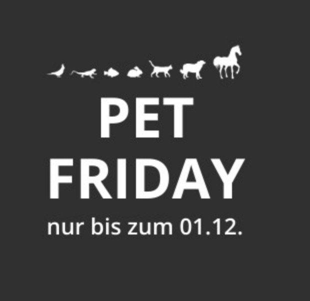 Pet Friday Rabatt bei Zoo Royal - z.B. 12€ Rabatt ab 59€ Mindestbestellwert