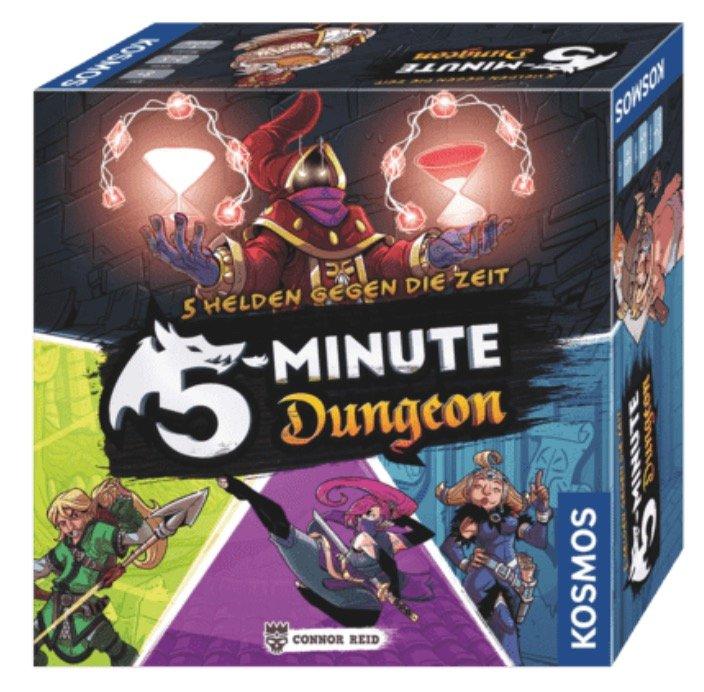 Gesellschaftsspiel: Kosmos 692889 - 5-Minute Dungeon Realtime-Spiel für 11,98€ (statt 19€)