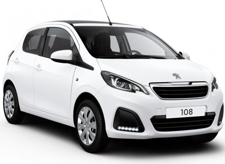 Privat + Gewerbe: Peugeot 108 Top! Collection mit 72PS ab 57,98€ Netto mtl. leasen