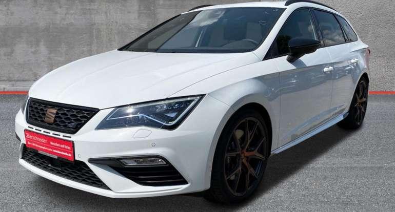 Privat & Gewerbe Leasing: Seat Leon Sportstourer Cupra 4Drive DSG Edition Copper (300PS) für 299€ mtl. (LF: 0,66)