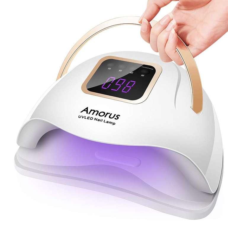 Amorus 72W UV LED Nageltrockner für 18,84€ inkl. Prime Versand (statt 29€)