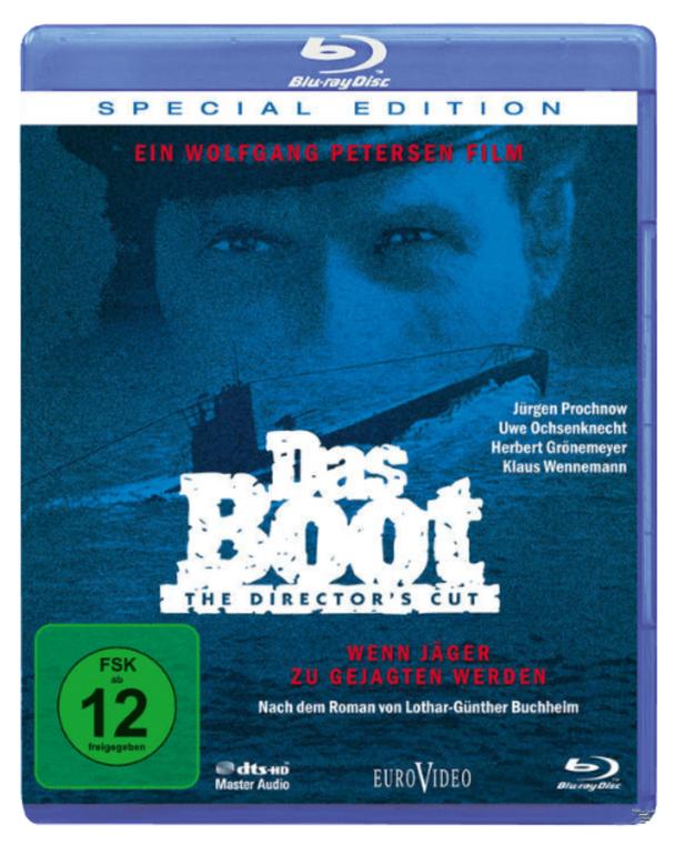 Das Boot (Director's Cut) auf Blu-ray für 7€ inkl. Versand (statt 10€)