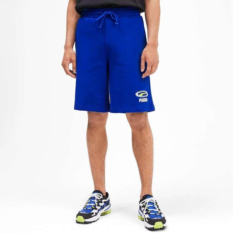 Puma Herren Shorts in blau für 23,38€ inkl. VSK (statt 32€)