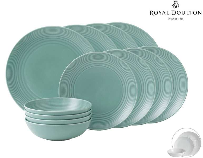 Royal Doulton by Gordon Ramsay Maze Keramik-Set 12tlg. für 48,90€ (statt 65€)