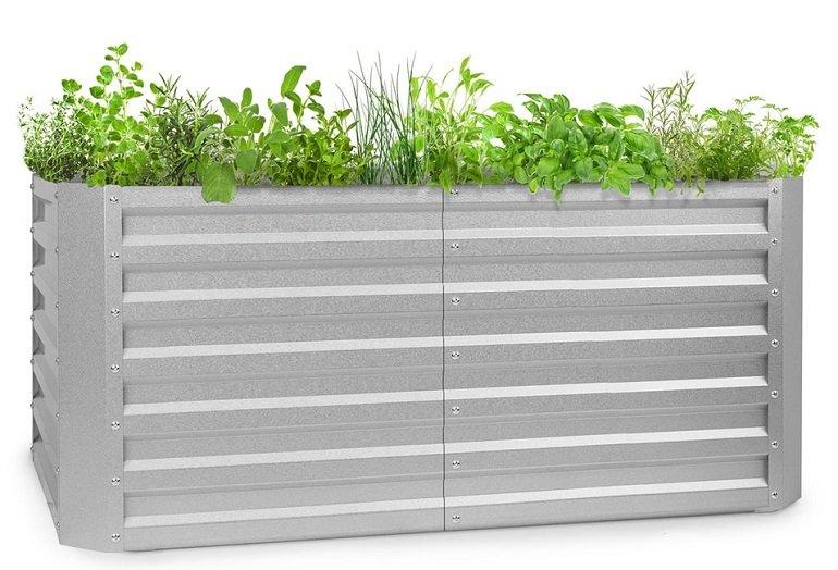 Blumfeldt High Grow Straight Hochbeet 120x60x60cm 432l Stahl für 64,99€ (statt 97€)
