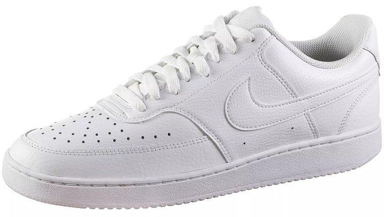 Nike Court Vision Low Herren Sneaker in Weiß für 39,11€ inkl. Versand (statt 52€)