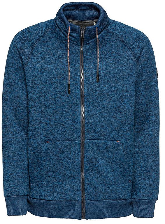 S.Oliver Red Label Fleecejacke blau für 38,17€ inkl. Versand (statt 45€)