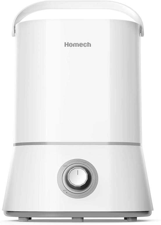 Homech - Ultraschall Luftbefeuchter mit 4 Liter Tank für 29,99€ inkl. Versand