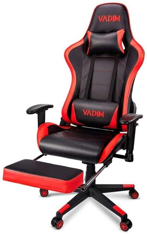 Vadim ergonomischer Gaming Stuhl mit Fußstütze für 89,99€ inkl. Versand (statt 120€)