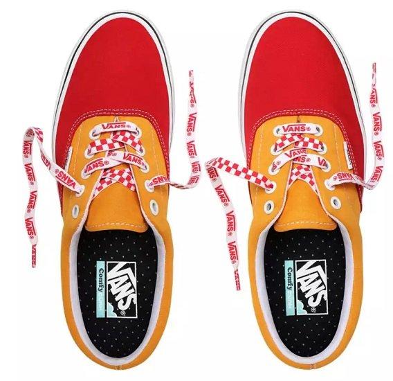 Top! Vans ComfyCush Era (Lace Mix) Red/Cadmium Ylw Schuhe für 35,10€ (statt 60€)