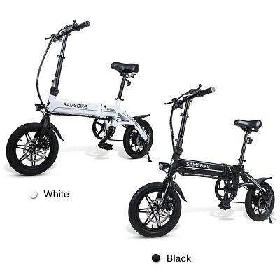 """Samebike - faltbares elektrisches 14"""" Fahrrad mit 250W Motor 25Km/h für 488,99€ inkl. VSK"""