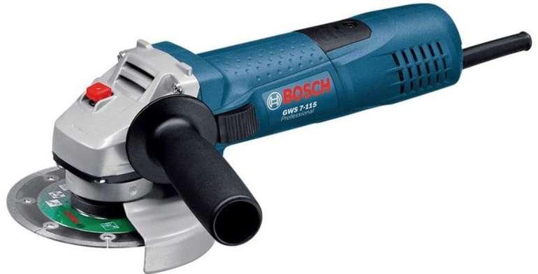 Bosch GWS 7-115 Winkelschleifer für 49,99€ inkl. Versand (statt 58€)