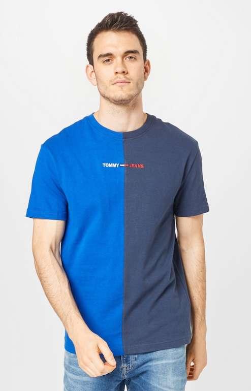 Tommy Jeans T-Shirt in nachtblau / royalblau / rot / weiß für 17,45€ inkl. Versand (statt 32€)