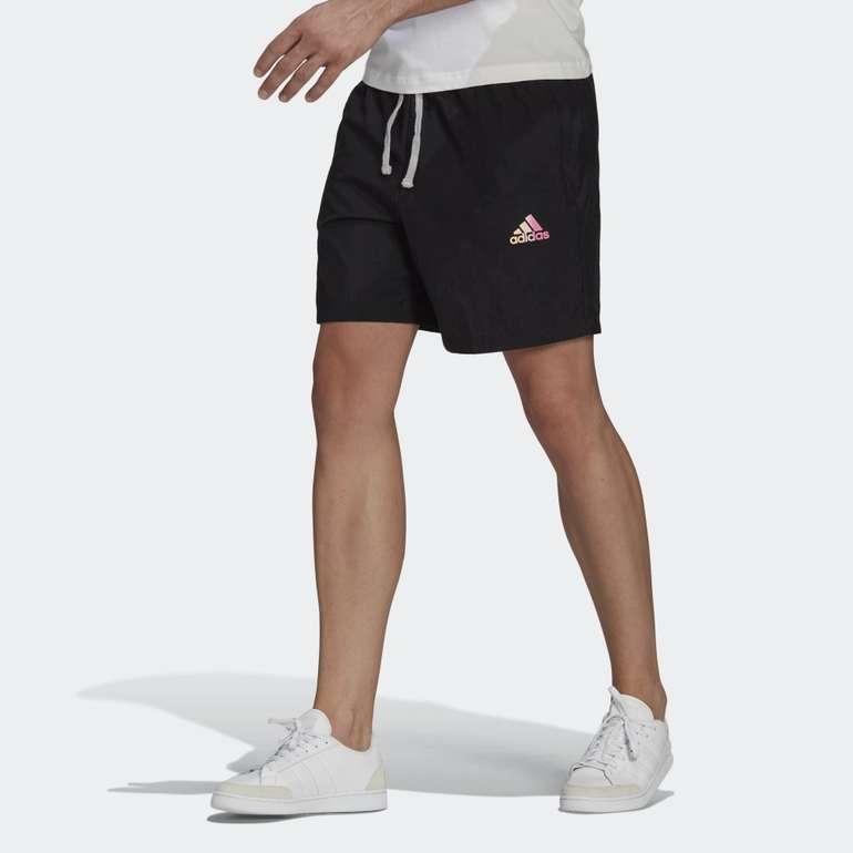 Adidas Essentials Gradient Logo Herren Shorts für 14,70€ inkl. Versand (statt 25€) - Creators Club!