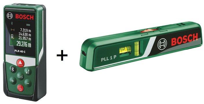 Bosch plr 40 c pll 1 p weu laser entfernungsmesser set füru2026