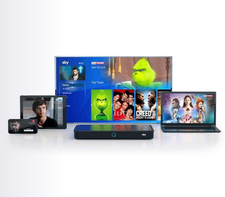 Wieder da: Sky Q Receiver + Sky Entertainment + Netflix in HD ab 18,99€ monatlich