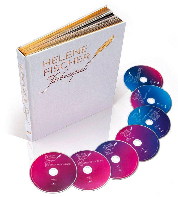Helene Fischer - Farbenspiel (Limitierter Bildband) (CD + DVD + Blu-ray) 19,99€