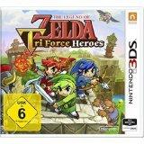 The Legend of Zelda: TriForce Heroes [3DS] für 8€ inkl. Versand (statt 18€)