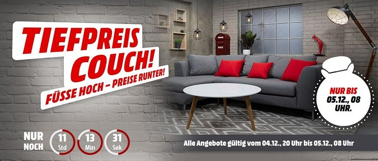 Media Markt Tiefpreis-Couch 2