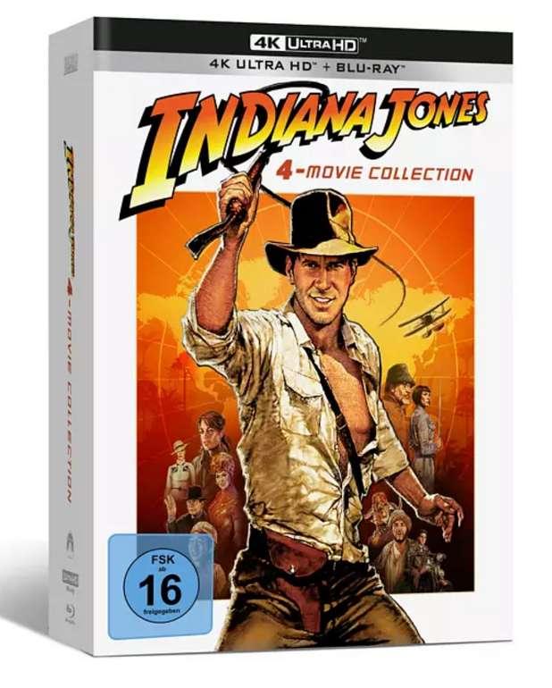Indiana Jones 1-4 4K Ultra HD Blu-Ray für 58,09€inkl. Versand (statt 82€)