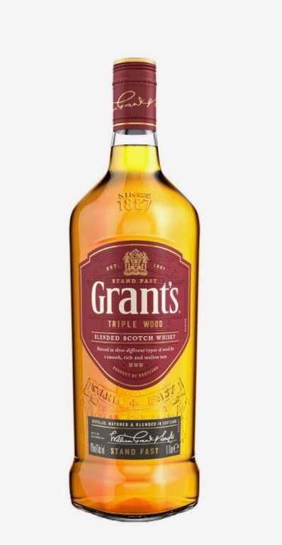 Grant's Triple Wood Scotch 43% (1L) für 13,50€inkl. Versand (statt 21€)