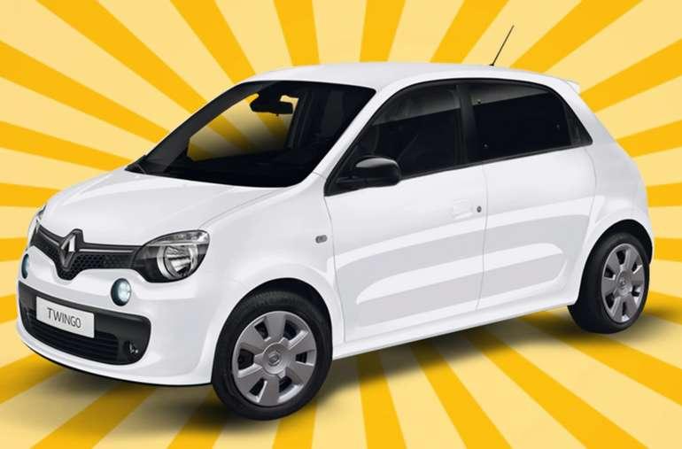 Gewerbeleasing: Renault Twingo mit 65 PS im Testleasing für 25€ mtl. (LF: 0.18, Überführung: 399€)