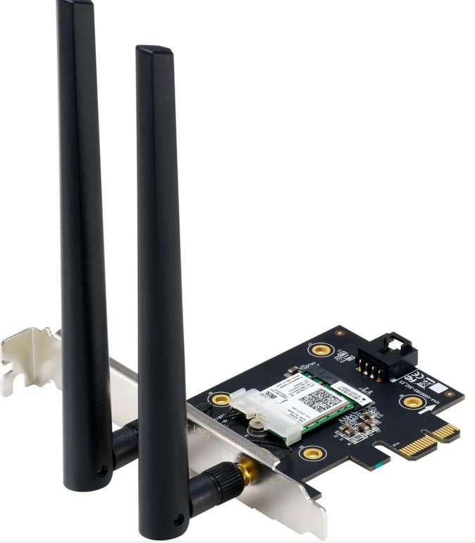 Asus PCE-AX3000 BT5.0 WLAN-Adapter in schwarz für 32,90€inkl. Versand (statt 38€)