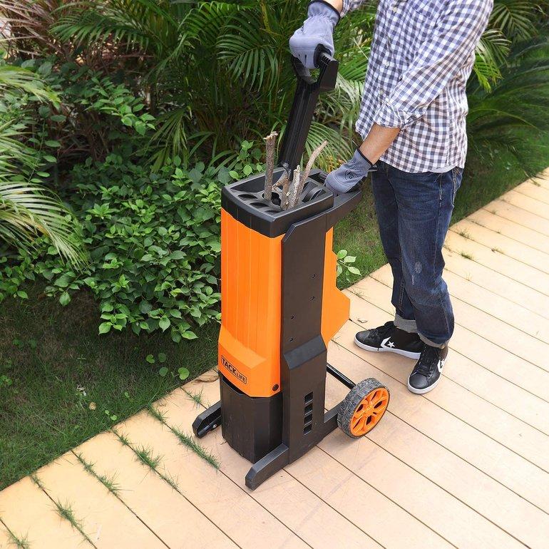 Tacklife PWS02A Elektro-Häcksler mit 2500W für 100€ inkl. VSK