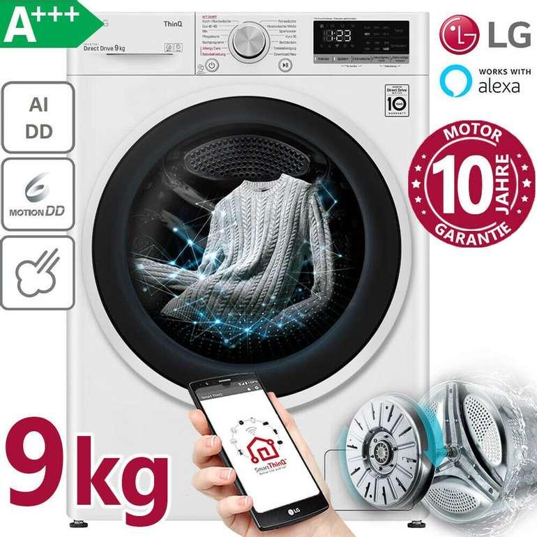 LG  F4 VT4W9KG Waschmaschine mit 9kg und EEK: A+++ für 399,99€ inkl. Versand (statt 499€)