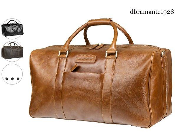 dbramante1928 Weekender aus Vollnarbenleder für 105,90€ (statt 198€)