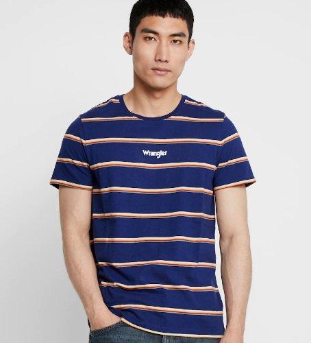 Wranger Herren T-Shirt Stripe Tee für 20,32€ inkl. VSK (statt 30€)