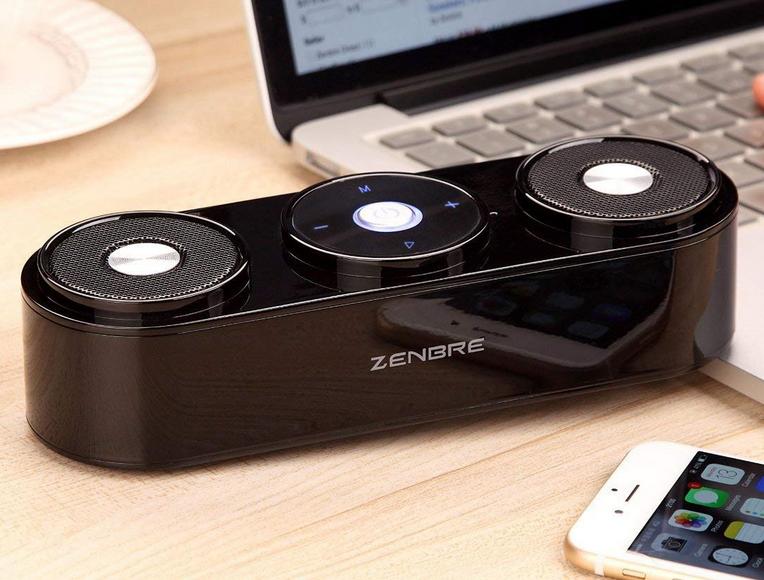 Zenbre Z3 Bluetooth Lautsprecher (10W) für 12,99€ mit Prime  (statt 27€)