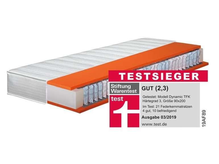Hn8 7-Zonen Taschenfederkern-Matratze Dynamic TFK in verschied. Größen ab 153,95€ inkl. Versand (statt 300€)