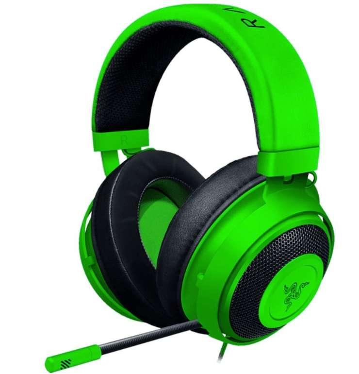 Media Markt Press Play: Alles für echte Player - z.B. Razer Kraken Headset in Grün für 49€ (statt 69€)