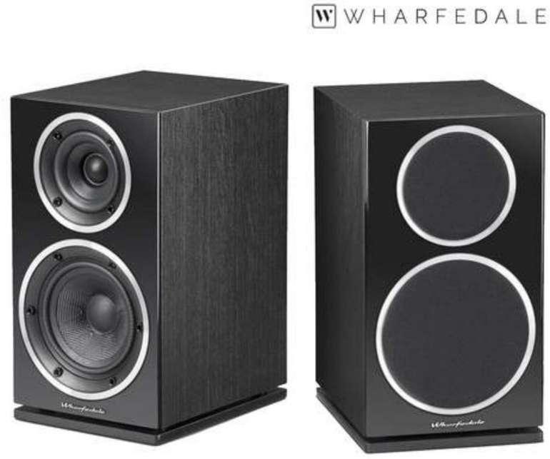 2x Wharfedale Diamond 220 Lautsprecher (130-mm-Tieftöner + 25-mm-Hochtöner) für 138,90€ (statt 248€)