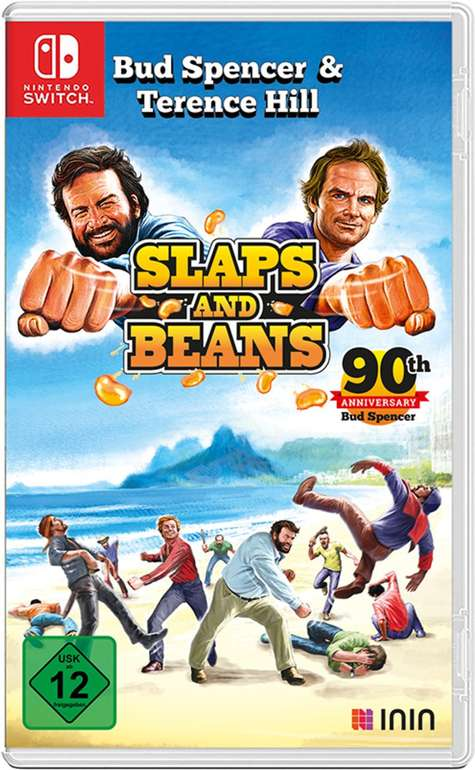 Bud Spencer & Terence Hill: Slaps and Beans Nintendo Switch ab 23,05€ (statt 35€)