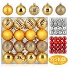 Zogin Christbaumkugeln (24 oder 32 Stück) in 3 Farben und 3 Größen ab 3,99€ (Prime)