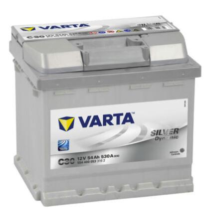 Varta C30 Silver Dynamic 54Ah 530A Autobatterie (554 400 053) für 58,45€inkl. Versand (statt 68€)