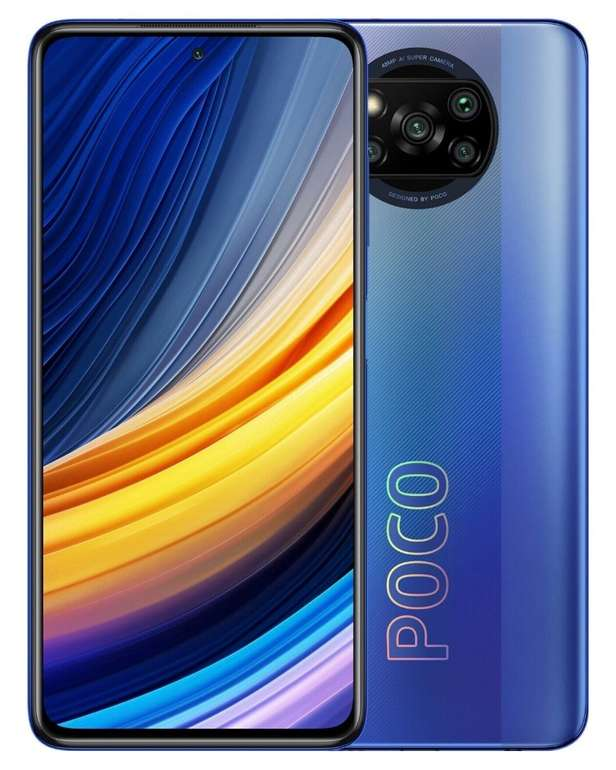 Xiaomi Poco X3 Pro 128GB (33,99€ ZZ) + Vodafone Crash (7GB LTE, Allnet/SMS) für 12,99€ mtl.