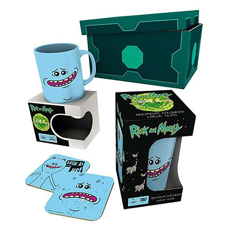 Diverse Merch-Geschenkboxen (Rick and Morty, Harry Potter etc.) für je nur 13,48€ oder 2 für 20,48€