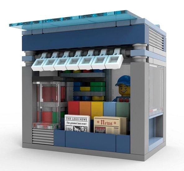 Lego Stores: Gratis Kioskladen bei dem Minimodellbau-Event (heute) - Für Erwachsene!