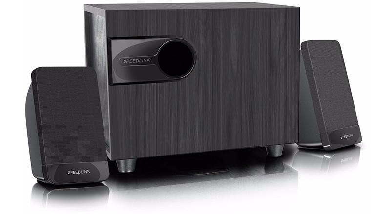 Speedlink Libitone - 2.1 Lautsprechersystem mit Subwoofer für 14,99€ inkl. VSK