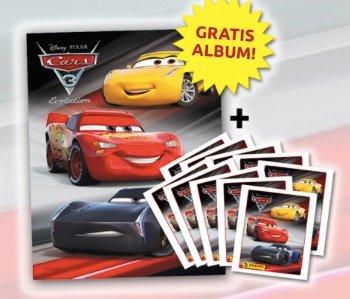 Gratis: Cars 3 Stickeralbum + 6 Sticker von Panini kostenlos bestellen