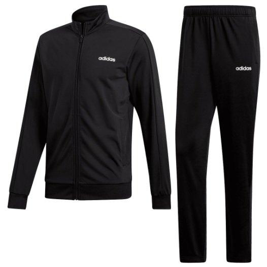 Adidas Trainingsanzug MTS Basic in schwarz/weiß für 29,95€ inkl. Versand (statt 37€)