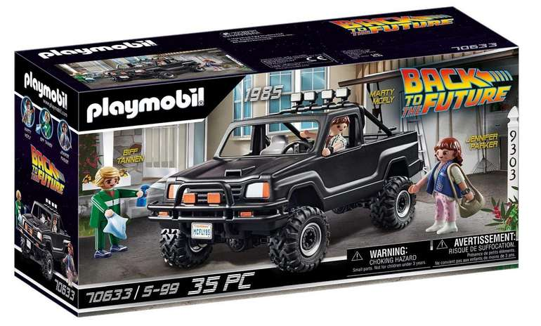 Playmobil Back to the Future - Marty's Pick-up Truck (70633) für 24,63€ inkl. Prime Versand (statt 31€)