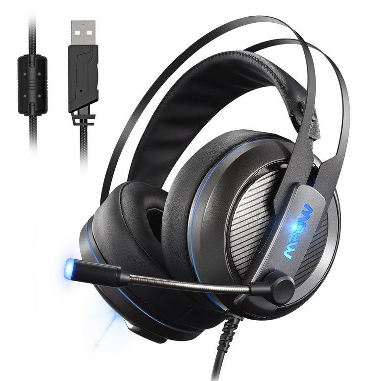 Mpow Gaming Headset mit Virtual 7.1-Kanal-Surround-Sound für 24,95€ (statt 32€)