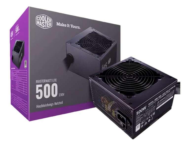Cooler Master MasterWatt Lite mit 500 Watt 230V für 28,89€ inkl. Versand (statt 43€)