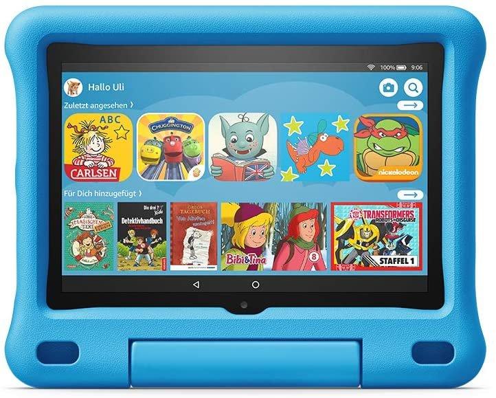 Amazon Fire HD 8 Tablet in der Kids Edition für 82,85€ (statt 137€)