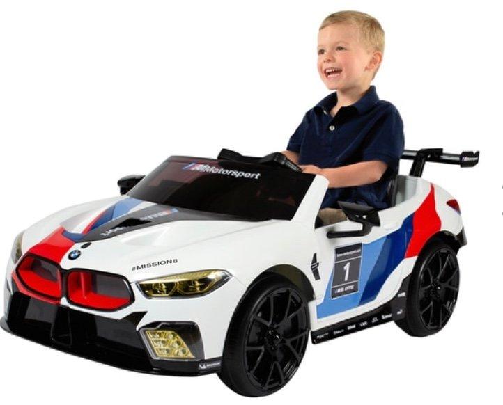 Rollplay BMW M8 GTE Racing 12V RC Kinder-Elektroauto für 199,99€ inkl. Versand (statt 242€)