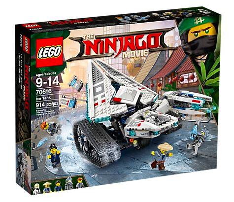 LEGO Ninjago - Zane's Eis-Raupe (70616) für 59,49€ inkl. Versand (statt 100€)